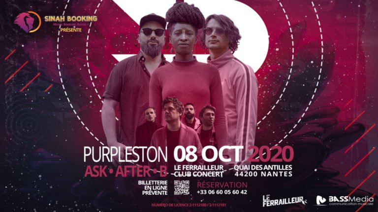 Purpleston + ASK After B en concert