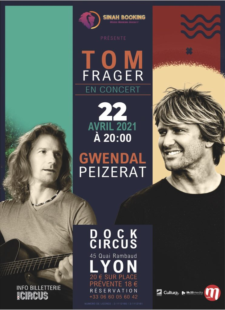 peizerat frager 743x1024 - Tom Frager + Gwendal Peizerat en concert