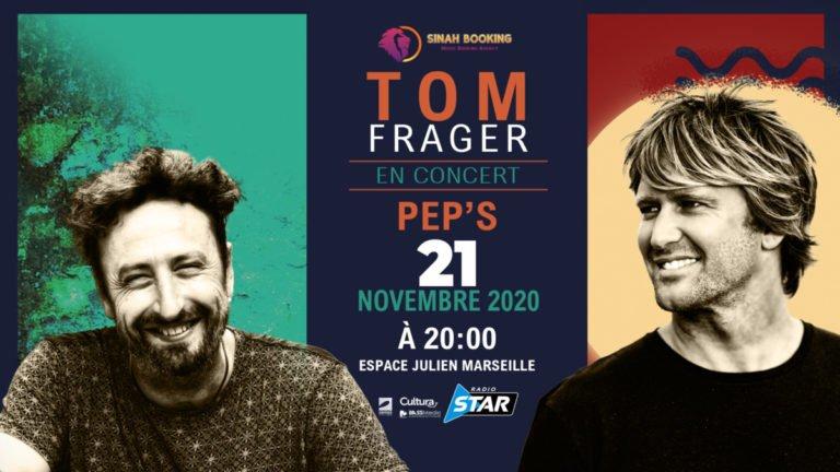 Tom Frager et Pep's en concert