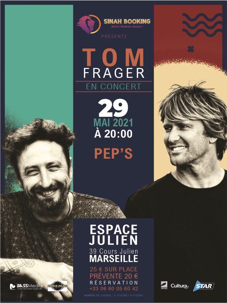 tom peps 769x1024 - Tom Frager + Pep's en concert