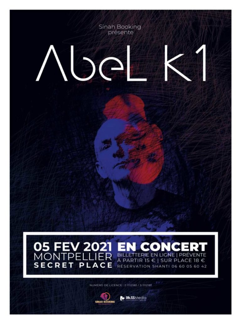 Abel K1 en concert