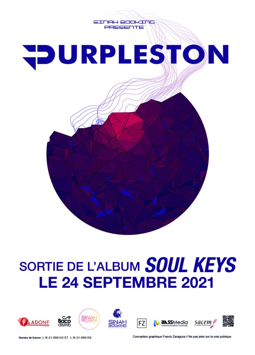 Purpleston sortie de l'album soul keys