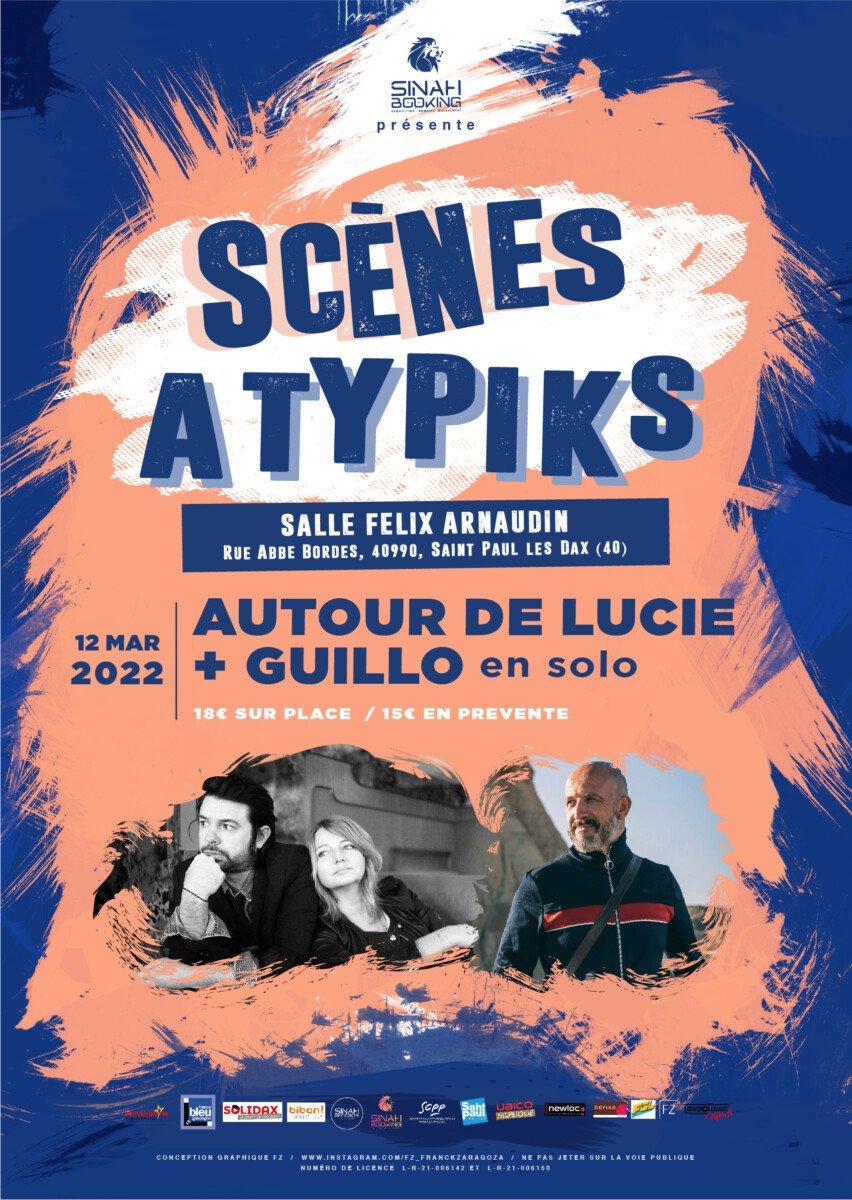 Affiche AUTOUR DE LUCIE + GUILLO ok